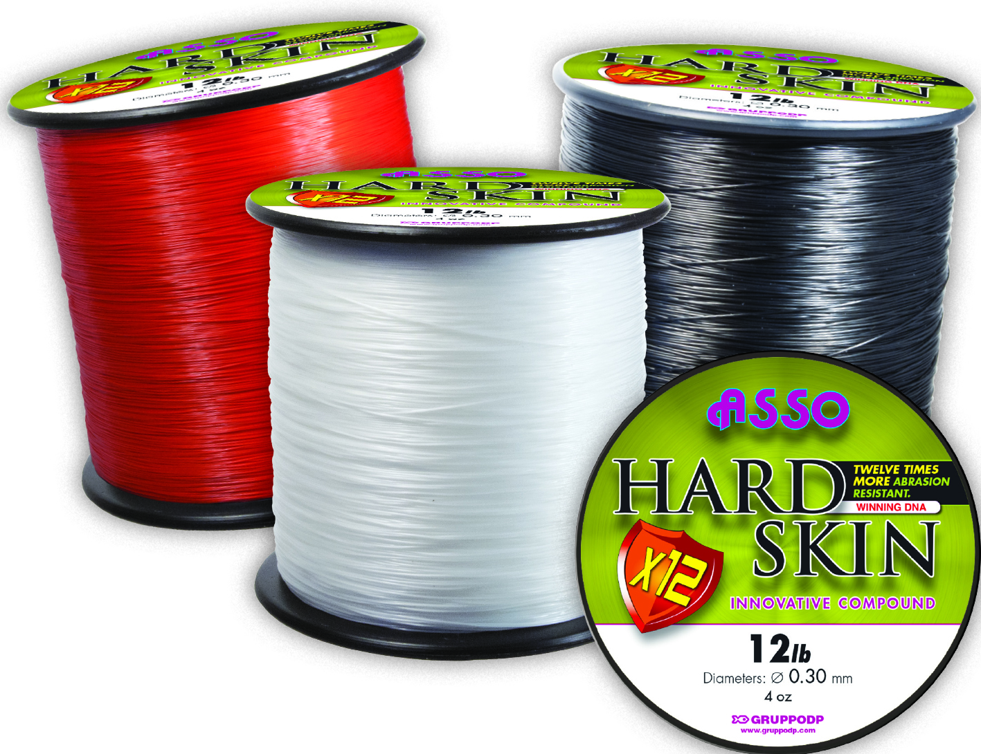 Asso Hard Skin Sea Carp fishing line