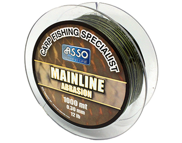 Asso Carp Specialist, Mainline Abrasion Carp fishing Line from Asso