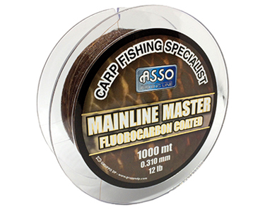 Asso Carp Specialist Mainline Master, Fluorocarbon coated Carp fishing line